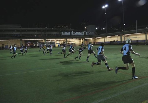 Playing ball: NYU rugby team enters final game of season