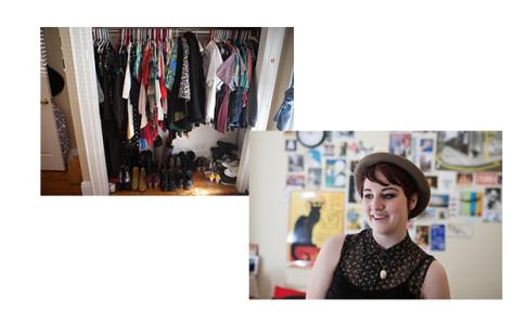 LSP sophomore shows off vintage wardrobe