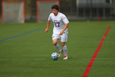 Men's soccer falls to Farmingdale in double overtime