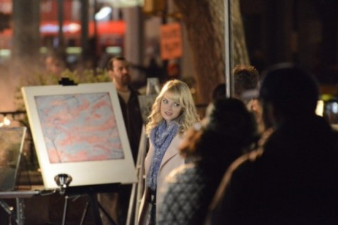 [GALLERY] Emma Stone, Andrew Garfield in Union Square