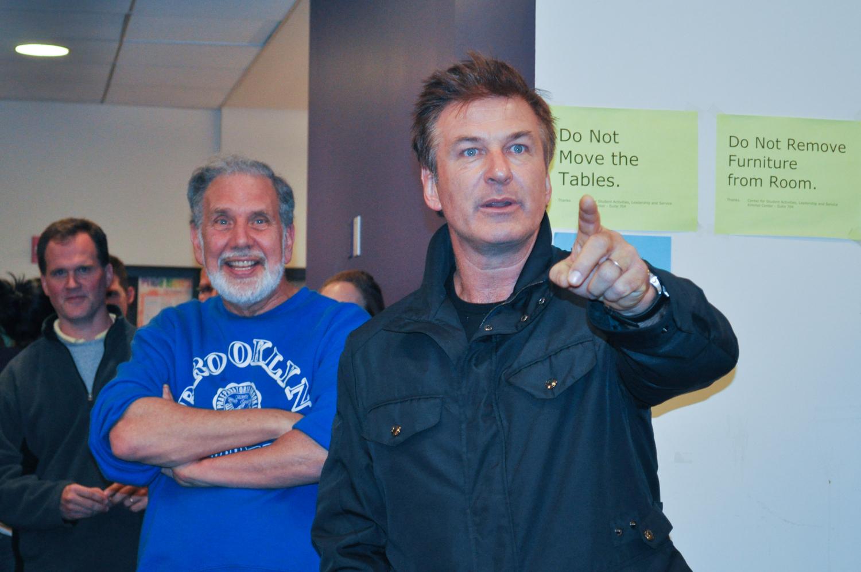 Alec Baldwin visits Kimmel in wake of Hurricane Sandy