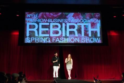 NYU students designs show Rebirth at FBA fashion show