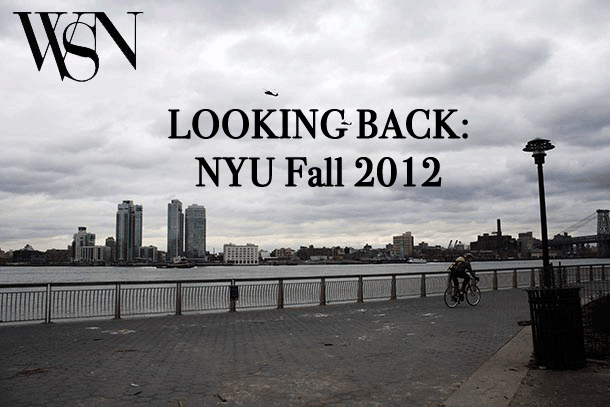 Looking back: NYU Fall 2012