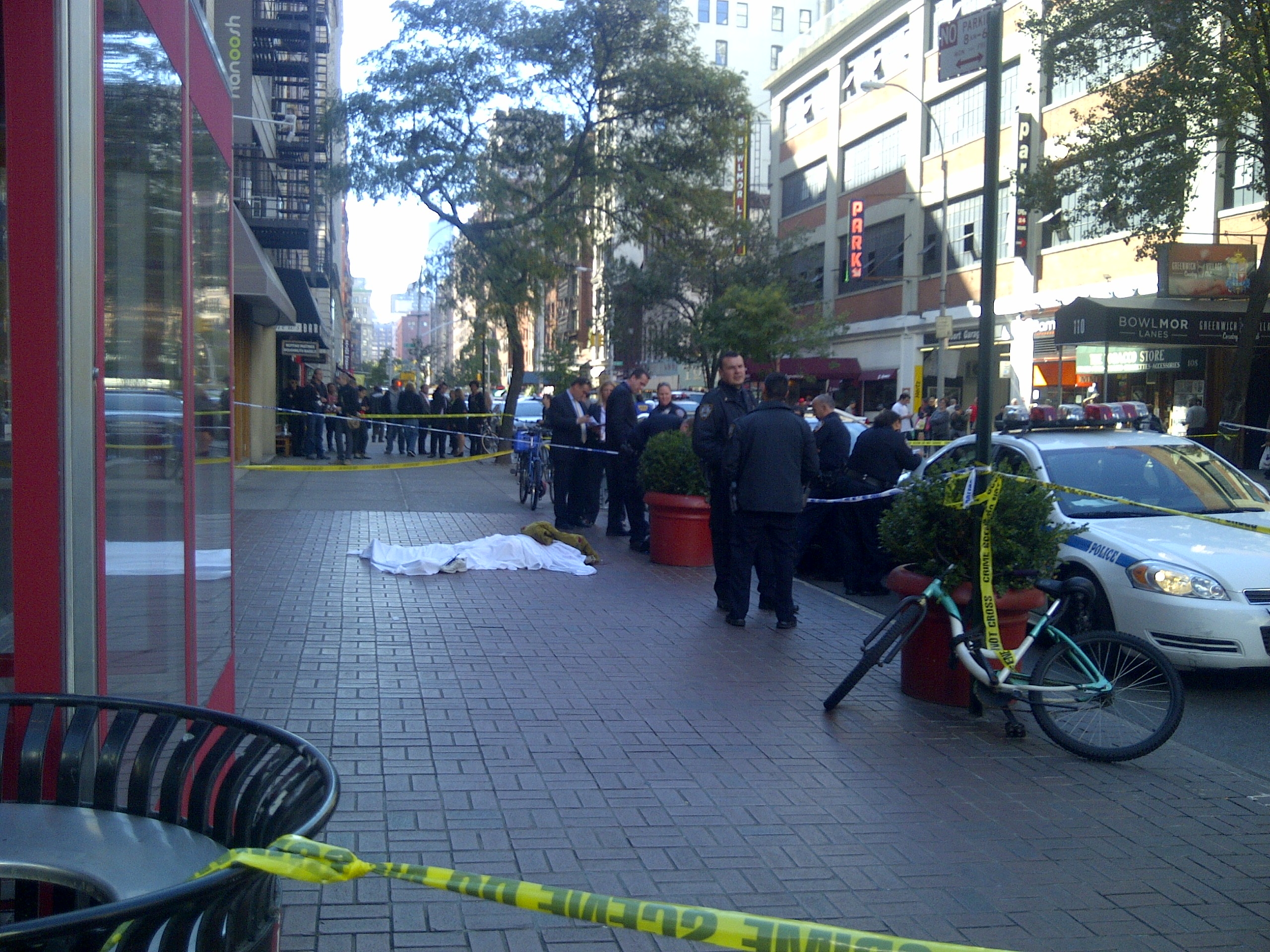 Woman falls to death on University Place