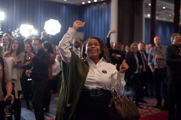 GALLERY: New York State Democratic Committee Celebrates Obama Victory