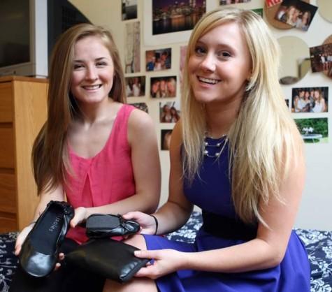 FRINGE: Cityslips fit ballet flats into women's purses