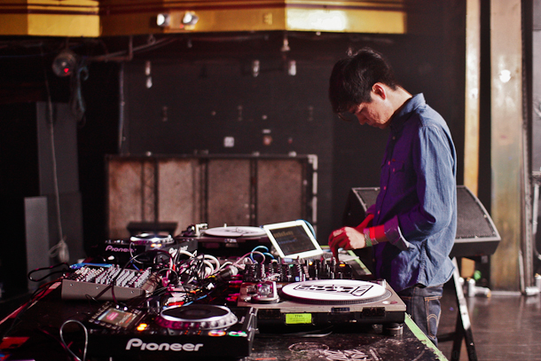 Nosaj Thing electrifies Webster Hall