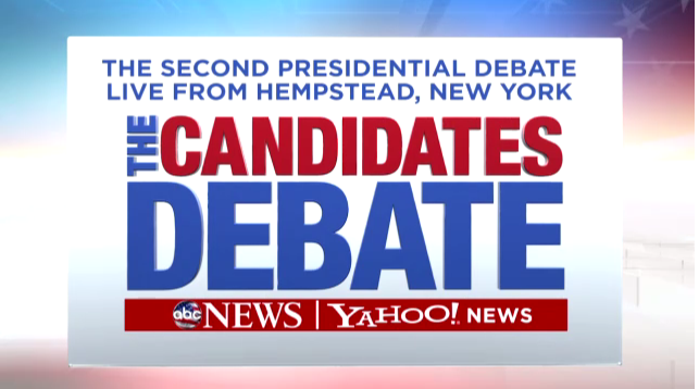 LIVE STREAM: Second Presidential Debate – Oct. 16