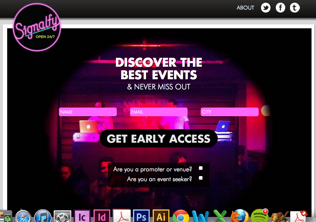Signalfy brings nuance to social event finder sites