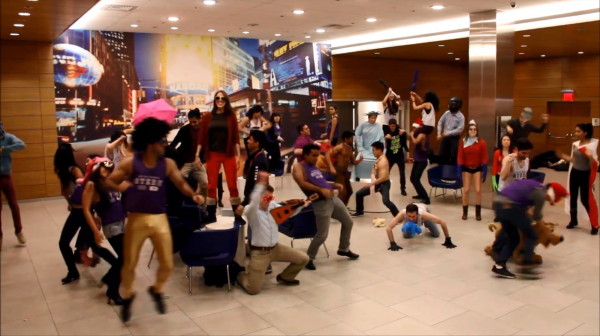 Stern students publish NYU version of 'Harlem Shake'