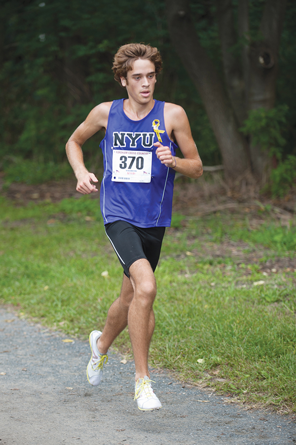 Men's cross country anticipates successful season after victorious opening meet